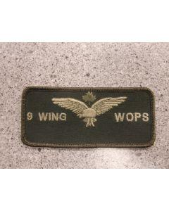 7922 - 9 Wing WOPS Nametag LVG