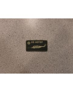 7994 - CO HOTEF Nametag LVG- CH148