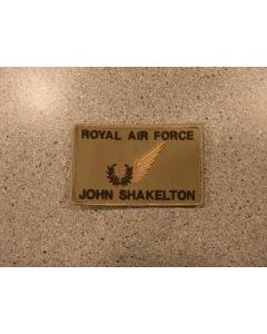 8094 Royal Air Force Nametag Tan