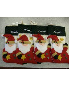 829 - Christmas Stocking Lettering
