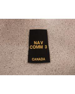 8359 Slip-ons Positions - NAV COMM 3