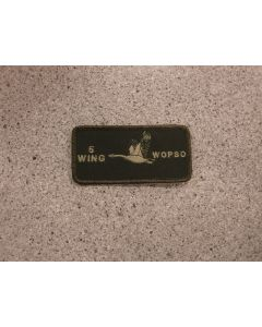 8427 347B - 5 Wing WOpsO Nametag LVG