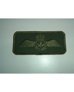 852 101E - Pilot Wings Nametag Style LVG