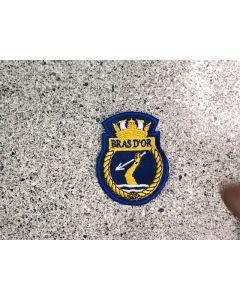 8898 517 - HMCS BRAS D'OR Ship Crest