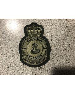 9039 14C- 444 Squadron Heraldic Crest LVG