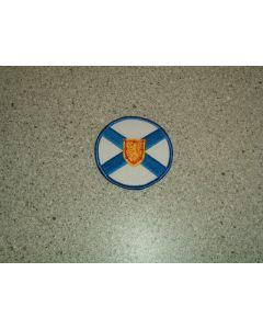 916 17 - Nova Scotia Round Flag