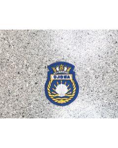 9211 517 - HMCS OJIBWA Ship Crest