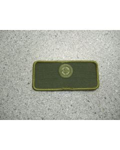 932 213 E - Air Force Roundel Nametag LVG