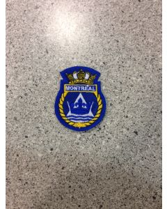 9644 - HMCS MONTREAL Ships Crest (Marlant) $5