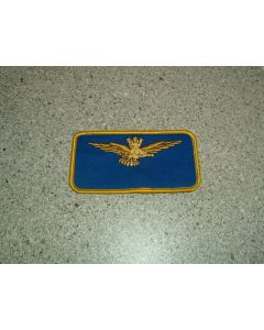 987 - CAP IFM Italian Wing Nametag with crown