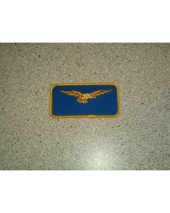 988 - CAP IFM Italian Wing Nametag no crown